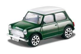 Bburago - Mini  - bura30044gn : 1969 Mini Cooper, green