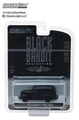 Chevrolet  - 1939 black - 1:64 - GreenLight - 27930F - gl27930F | The Diecast Company