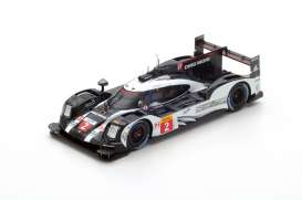 Porsche  - 2016 black/white - 1:43 - Spark - s5148 - spas5148 | The Diecast Company
