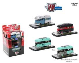 M2 Machines - Volkswagen  - M2-32500VWM05~6 : Volkswagen series 5 limited editions, mix box of 6 pieces