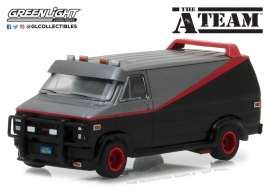 GMC  - 1983 black/red/grey - 1:64 - GreenLight - gl44790B | The Diecast Company
