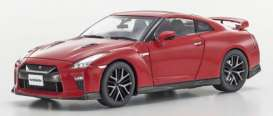 Kyosho - Nissan  - kyo3893r : 2017 Nissan GT-R (R35), vibrant red