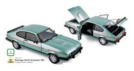 Norev - Ford  - nor182719 : 1982 Ford Capri Mk.III 2.8 Injection, crystal green metallic