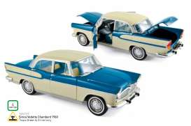 Norev - Simca  - nor185727 : 1960 Simca Vedette Chambord, tropic green/china ivory