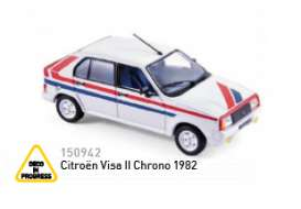 Citroen  - 1982 white/blue/red - 1:43 - Norev - nor150942 | The Diecast Company