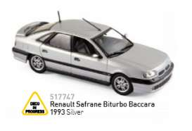 Renault  - 1993 silver - 1:43 - Norev - 517747 - nor517747 | The Diecast Company
