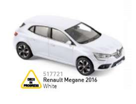 Renault  - 2016 white - 1:43 - Norev - 517721 - nor517721 | The Diecast Company