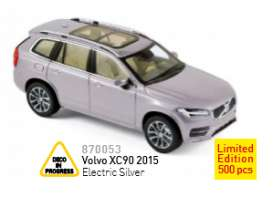Norev - Volvo  - nor870053 : 2015 Volvo XC90, electric silver