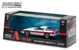 Chevrolet  - Corvette C4 *A-Team* 1984  - 1:43 - GreenLight - 86517 - gl86517 | The Diecast Company