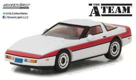 GreenLight - Chevrolet  - gl86517 : 1984 Chevrolet Corvette C4 *The A-Team (1983-87 TV Series)*