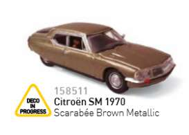 Citroen  - 1934 brown metallic - 1:87 - Norev - nor158511 | The Diecast Company