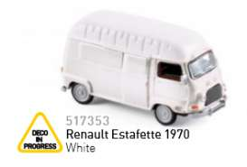 Renault  - 1970 white - 1:87 - Norev - nor517353 | The Diecast Company