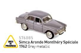 Simca  - 1962 grey metallic - 1:87 - Norev - nor576085 | The Diecast Company