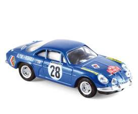 Alpine Renault - 1971 blue - 1:64 - Norev - nor310703 | The Diecast Company