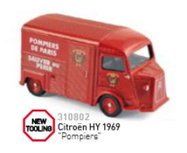 Citroen  - HY Pompiers 1969  - 1:55 - Norev - 310802 - nor310802 | The Diecast Company