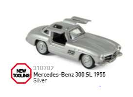Mercedes Benz  - 1955 silver - 1:64 - Norev - nor310702 | The Diecast Company