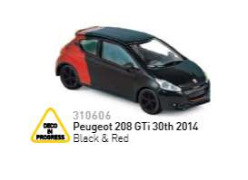 Peugeot  - 2014 red/black - 1:64 - Norev - 310606 - nor310606 | The Diecast Company