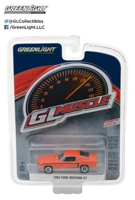 Ford  - 1968 orange - 1:64 - GreenLight - 13190A - gl13190A | The Diecast Company