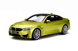 GT Spirit - BMW  - GT164 : 1/18 BMW M4 Competition Package *Resin series*, austin yellow