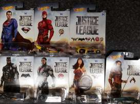 Hotwheels - Marvel Assortment/ Mix - hwmvDWD02 : 1/64 Justice League Car Assortment In Nice Marvel Packaging.