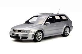 OttOmobile Miniatures - Audi  - otto521 : 1/18 Audi RS4 B5 *Resin Series*, grey