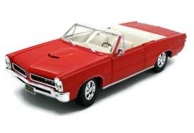 Pontiac  - 1965 red - 1:18 - Maisto - 31884r - mai31884r | The Diecast Company