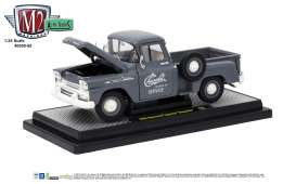 M2 Machines - Chevrolet  - M2-40300-55A : 1958 Chevrolet Apache Stepside, granite grey