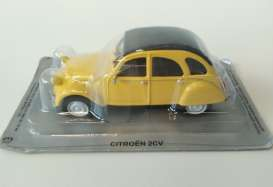 Citroen  - 2CV super yellow - 1:43 - Magazine Models - PC2cv - MagPC2cv | The Diecast Company
