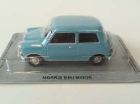Moonscope  - Mini Minor 1964 light blue - 1:43 - Magazine Models - PCmorris - MagPCmorris | The Diecast Company