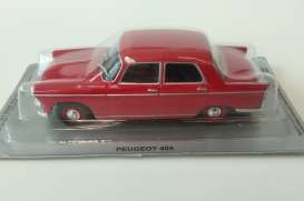 Peugeot  - 404 1960 red - 1:43 - Magazine Models - PC404r - MagPC404r | The Diecast Company