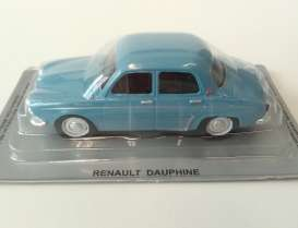 Renault  - Dauphine blue - 1:43 - Magazine Models - PCdauphine - MagPCdauphine | The Diecast Company