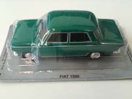 Fiat  - 1500 green - 1:43 - Magazine Models - PCfi1500gn - magPCfi1500gn | The Diecast Company
