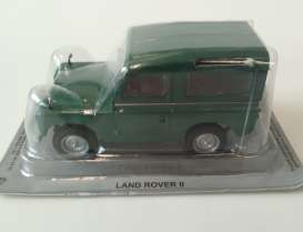 Land Rover  - II lhd green - 1:43 - Magazine Models - PCLRII - magPCLRII | The Diecast Company