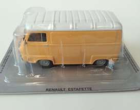 Renault  - Estafette orange/white - 1:43 - Magazine Models - pcrenest - magpcrenest | The Diecast Company