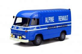 OttOmobile Miniatures - Saviem  - otto578 : 1/18 Saviem Sb2 Assistance courses Alpine (resin series), blue