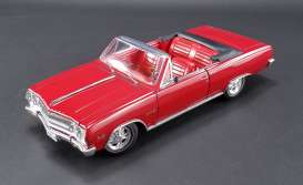 Chevrolet  - 1965 red - 1:18 - Acme Diecast - acme1805306 | The Diecast Company