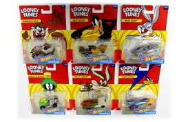 Hotwheels - Assortment/ Mix  - hwmvDMH73-999C~8 : 1/64 *Looney Tunes* assortment. Mix box of 8