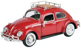 Volkswagen  - red - 1:24 - Motor Max - mmax79559r | The Diecast Company