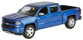 Chevrolet  - 2017 blue - 1:24 - Motor Max - mmax79348b | The Diecast Company