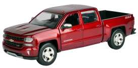 Chevrolet  - 2017 red - 1:24 - Motor Max - mmax79348r | The Diecast Company