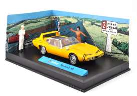 Michel Vaillant  - yellow - 1:43 - Magazine Models - MVmistral - magMVmistral | The Diecast Company