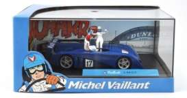 Michel Vaillant  - blue - 1:43 - Magazine Models - MVlm07 - magMVlm07 | The Diecast Company