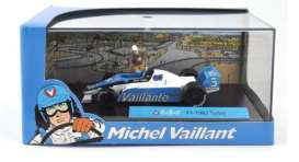 Michel Vaillant  - 1982 F1 Turbo 1982 light blue/white - 1:43 - Magazine Models - MVf11982 - magMVf11982 | The Diecast Company