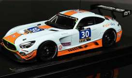 Mercedes Benz AMG - AMG GT3 #30 2016 gulf blue/orange - 1:18 - Paragon - 88021 - para88021 | The Diecast Company