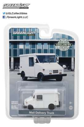 GreenLight - Grumman LLV  - gl29911 : 1/64 Grumman Long Life Postal Delivery Vehicle (plain white)