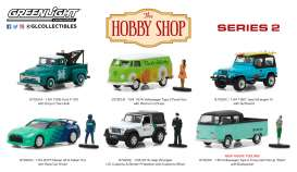 Assortment/ Mix  - various - 1:64 - GreenLight - gl97020 | The Diecast Company