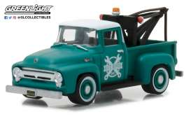 Ford  - 1956 green - 1:64 - GreenLight - gl97020A | The Diecast Company