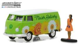Volkswagen  - 1976 green/white - 1:64 - GreenLight - gl97020B | The Diecast Company