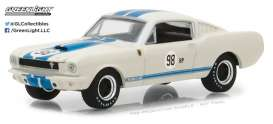 Shelby  - 1965 white/blue - 1:64 - GreenLight - gl29918 | The Diecast Company