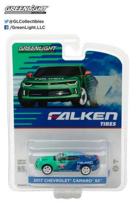 GreenLight - Chevrolet  - gl29914 : 2017 Chevrolet Camaro *Falken Tire*, green/blue